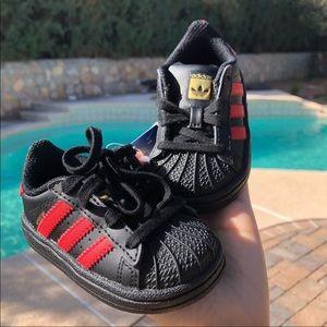 Adidas Baby Original Superstar Sneakers size 4